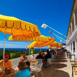 Fort Mackinac Tea Room