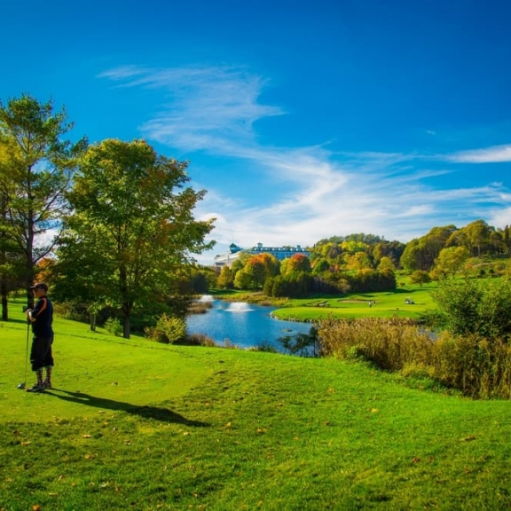 Grand Hotel - Fall Michigan Golf Live Package