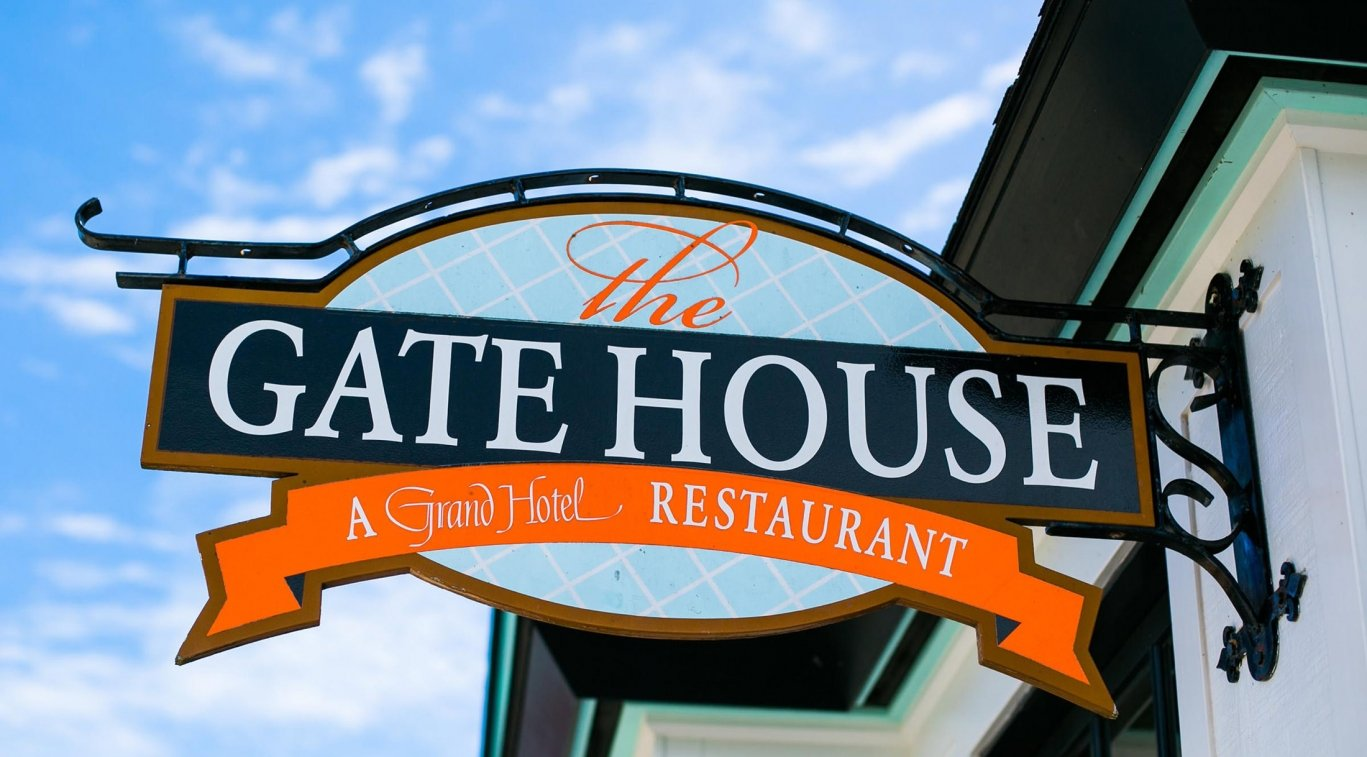 The Gate House sign outside